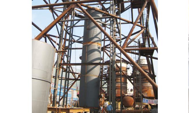 陕西汉中船闸横梁液压提升工程(同步提升液压千斤顶)
