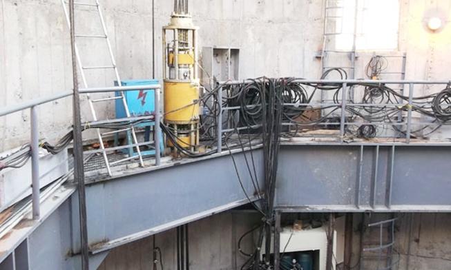 大庆市油田热电厂烟囱钢内筒提升(同步提升液压千斤顶)