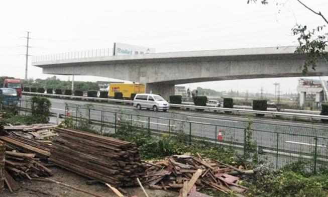 无锡市轨道交通2线桥转体工程