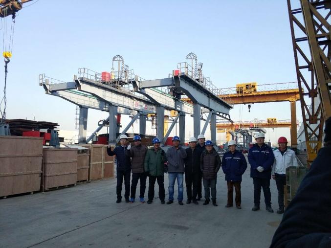 印尼LRT桥面吊项目