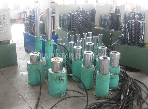 YD型千斤顶及泵站调试